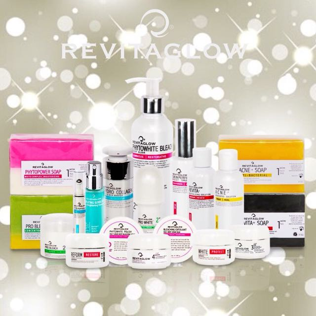 Revitaglow skincare products