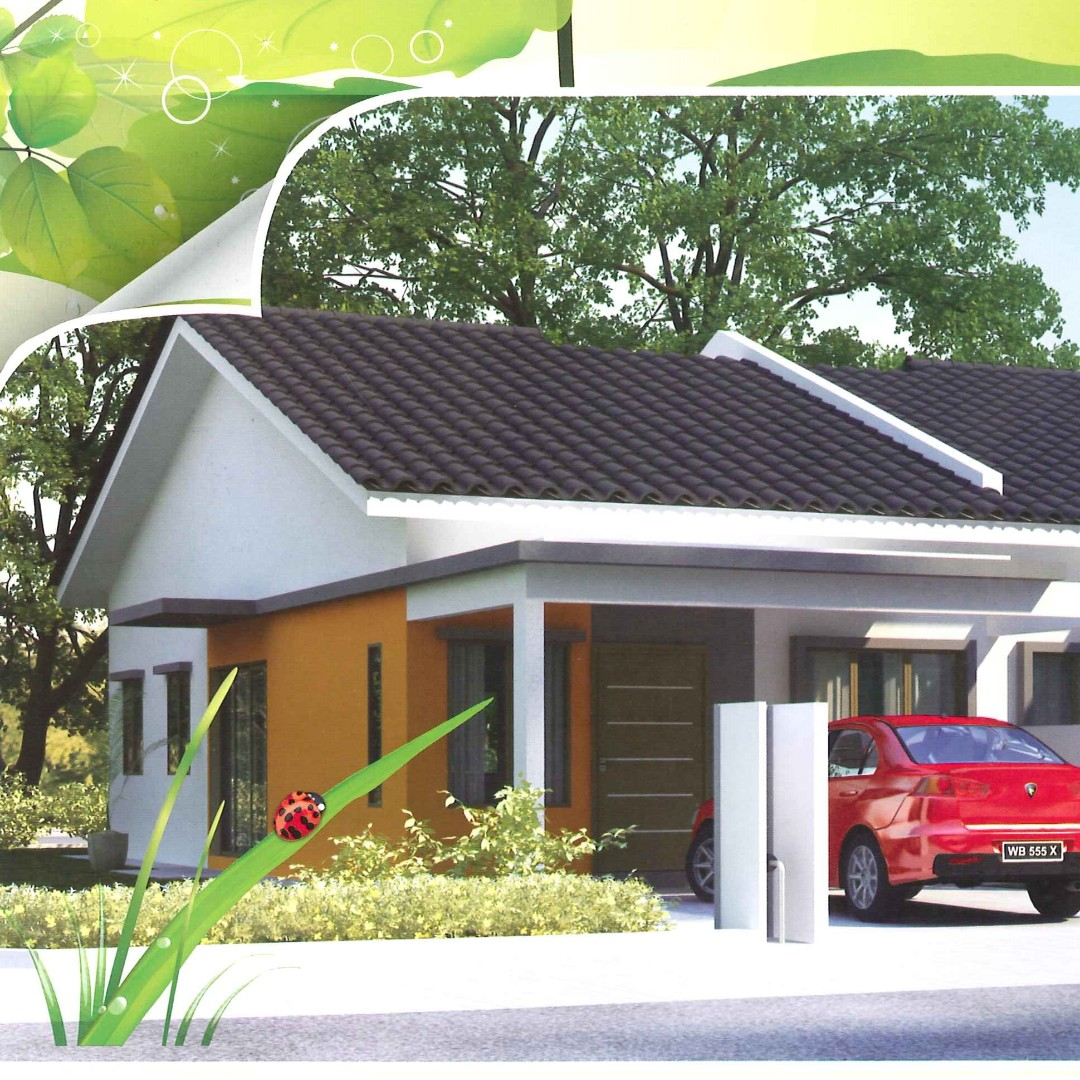 Rumah Teres Setingkat Taman Salak Kasturi Property For On Carou