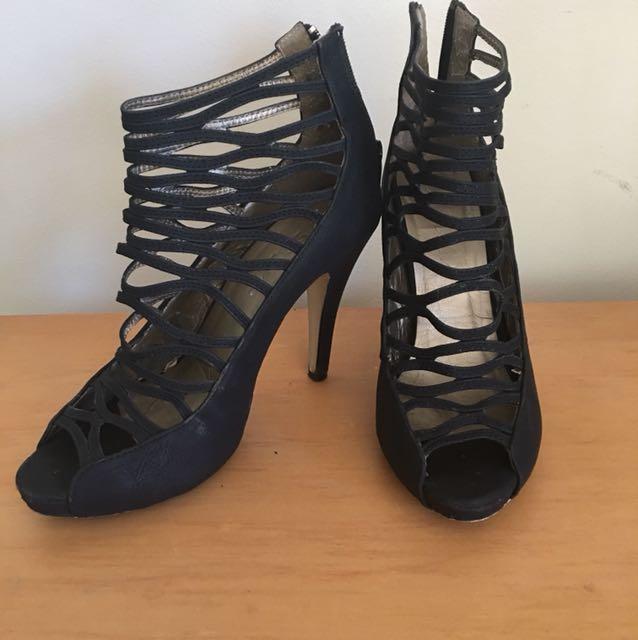 SALE: STOMP heels + Tony Biano shoe box