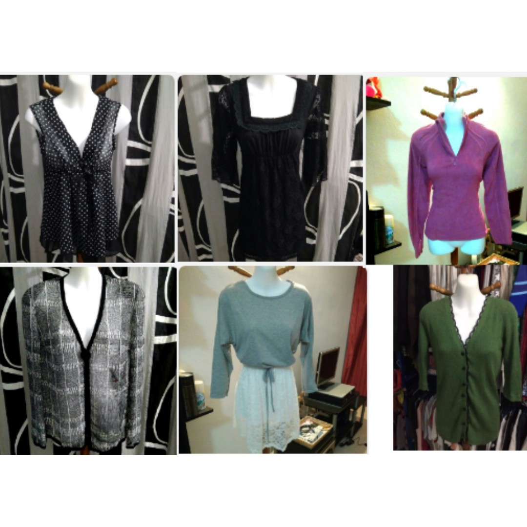 Sales woman clothing**