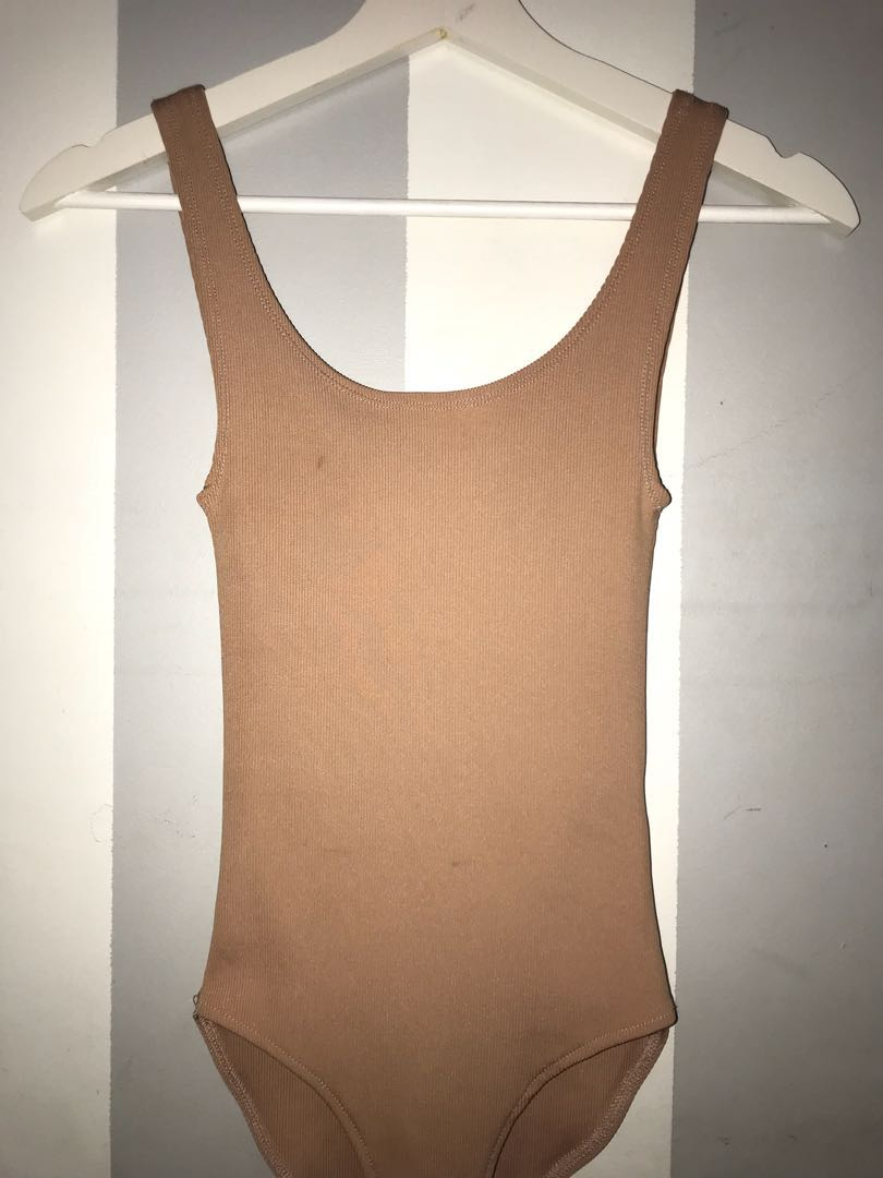 Seed ribbed bodysuit