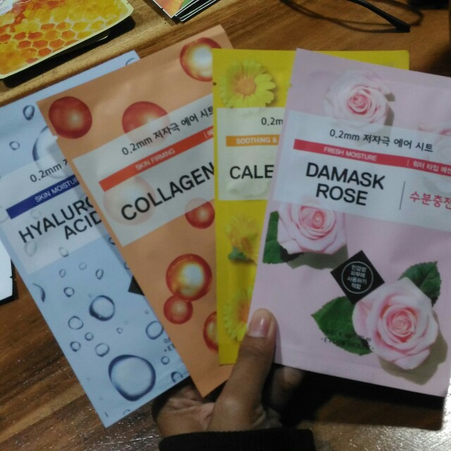Sheet mask etude