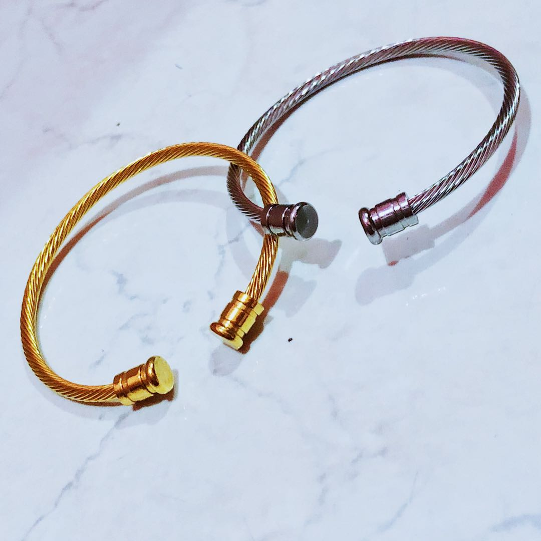 Silver&Gold Bangles