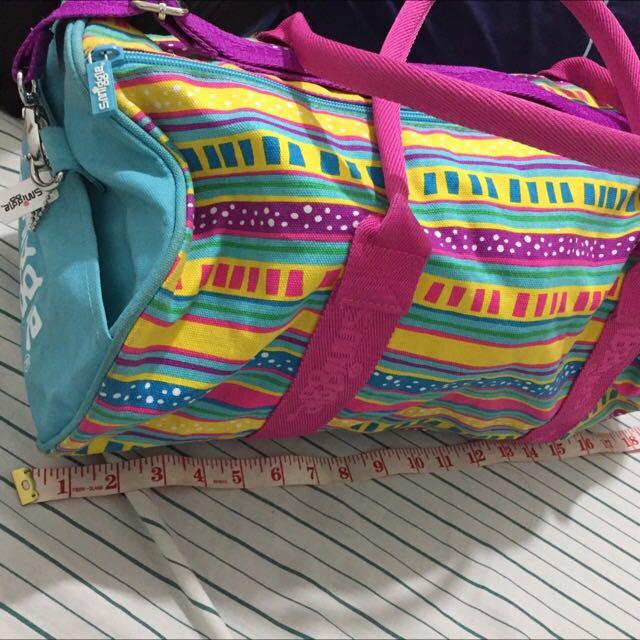 Smiggle Barrel Bag