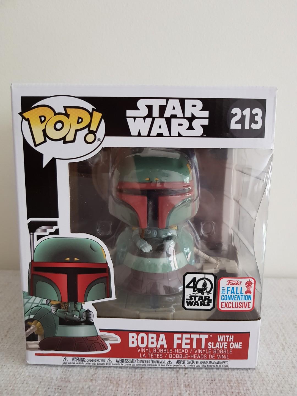 Star Wars: Boba Fett Ride Pop vinyl