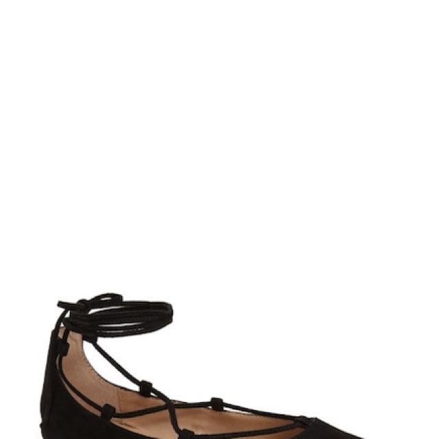 Steve Madden Eleanor Strappy flats leather 8.5