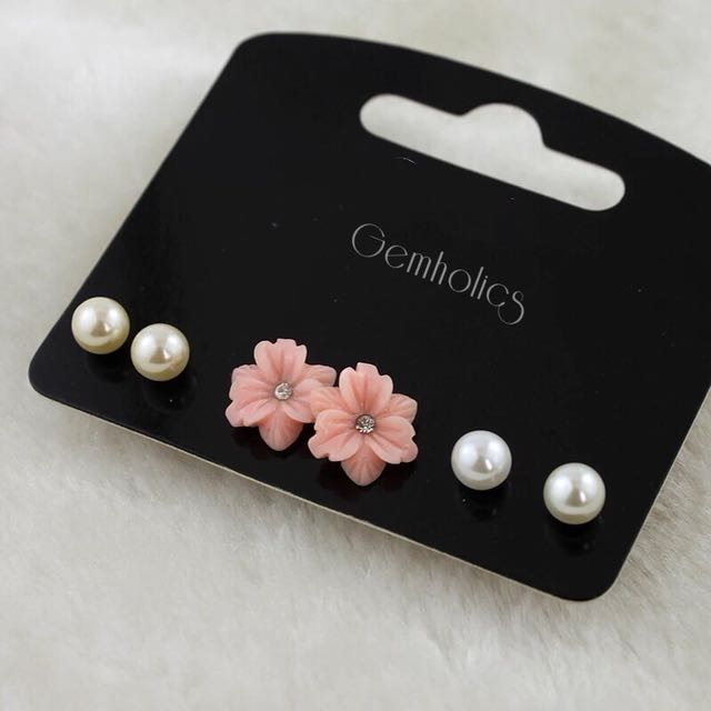 Sweet girl earring set