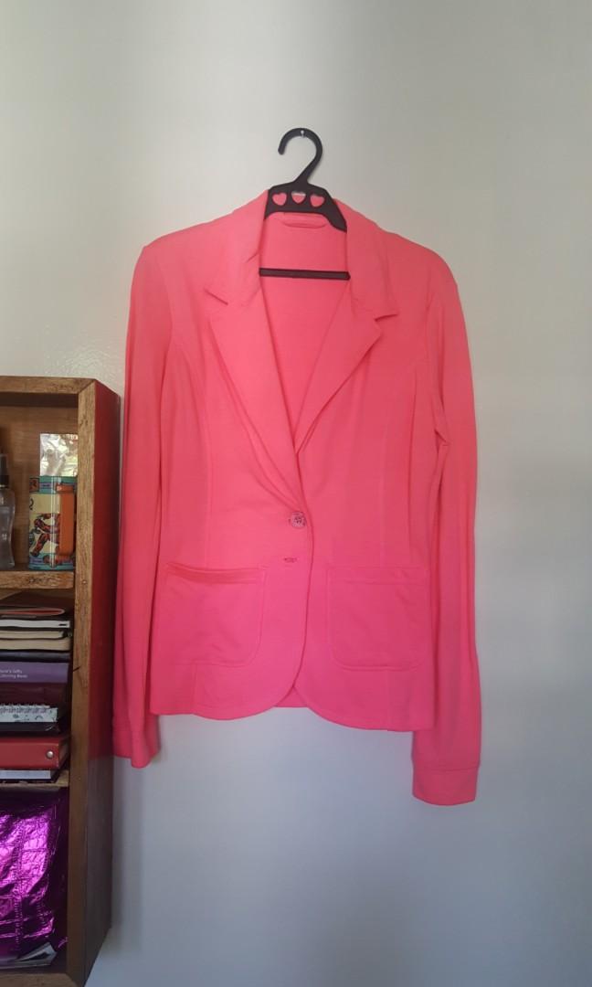 Terranova neon pink blazer
