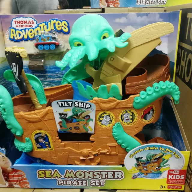 Thomas and friends sea monster