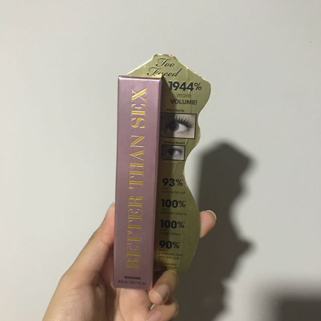 Too faced mascara full size