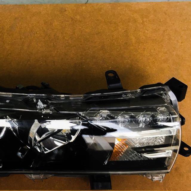 Toyota Altis Headlights / Headlamps