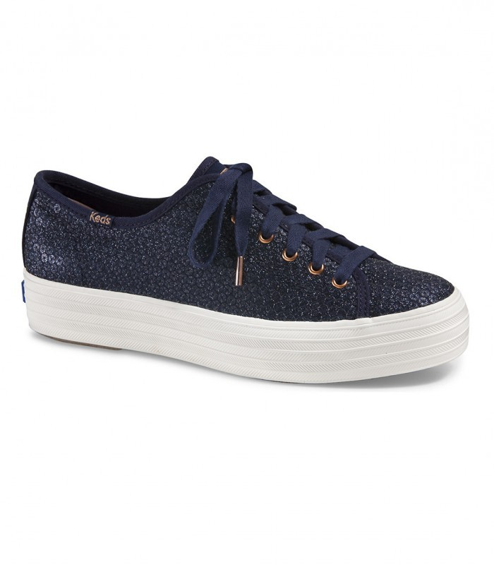 2a438463cf67 Triple Kick Glitter Sequin Sneakers Keds