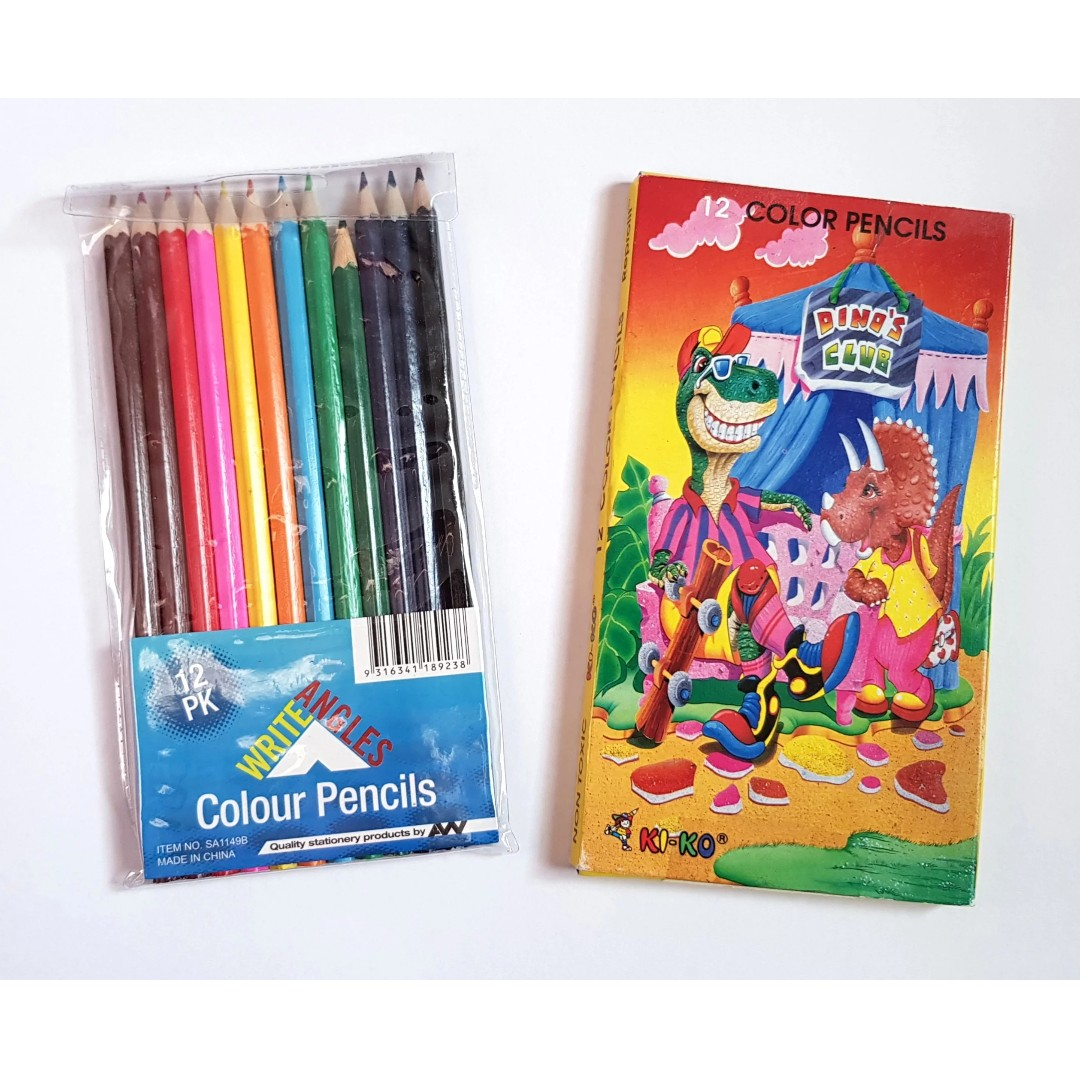 X2 pack of 12pk Coloured Pencils