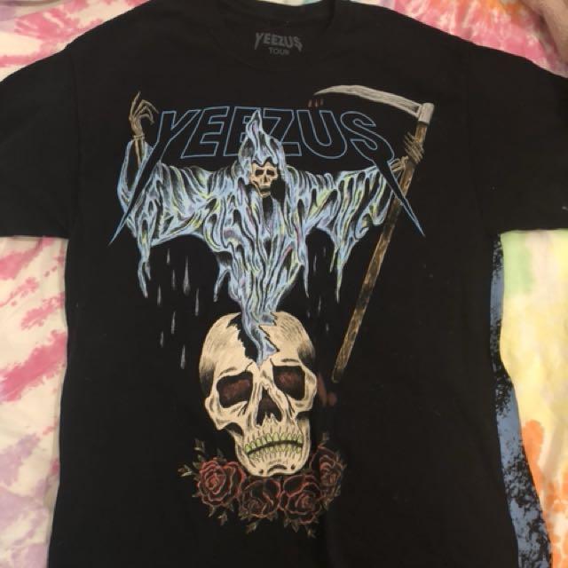 Yeezus  2014 tour t shirt