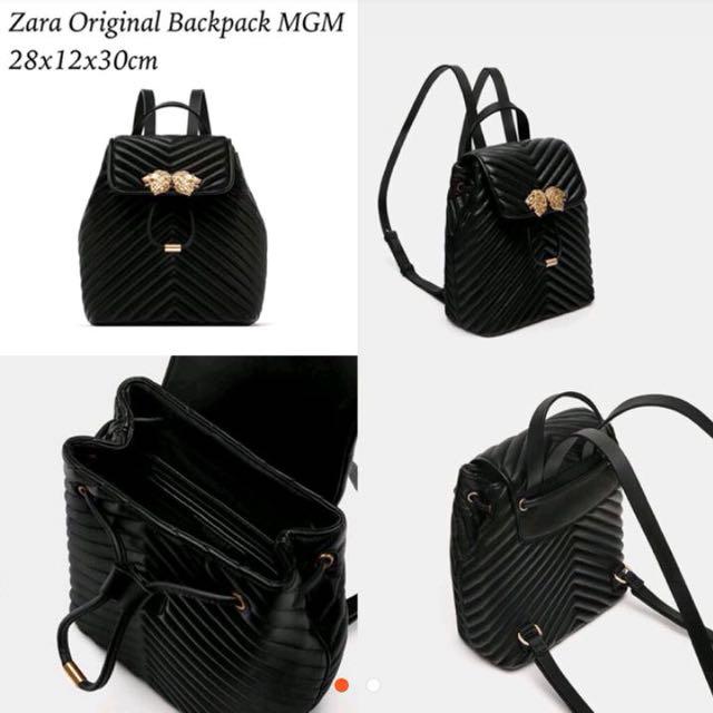 Zara backpack mgm