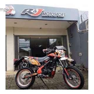 Kawasaki Klx 150 Orange Tahun 2016 Bekas