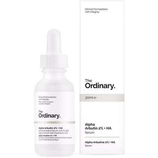 🚚 The ordinary Alpha Arbutin 2% + HA / 熊果素+玻尿酸