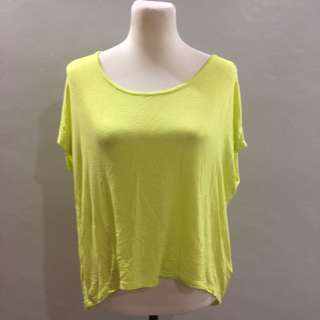 Cotton on lime top