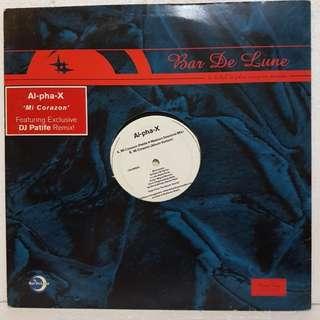 """12""""Remix》Al-Pha-X - Mi Corazon Vinyl Record"""