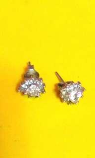 silver (earings)