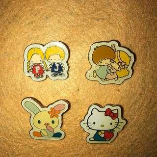 襟章pin Sanrio