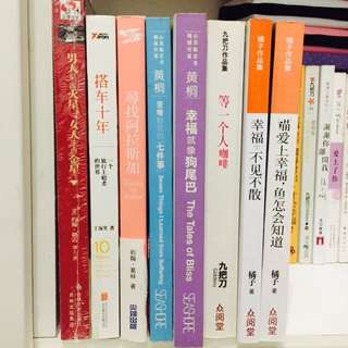 Chinese Secondhand Novels 华文小说