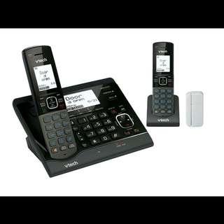 全新有保用 Vtech VC7151-202A 室內無線電話雙子機組合連V SMART 無線家居監控