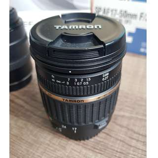 Tamron 17-50mm F/2.8 (with lens and hood) (non-VC) Canon-Mount