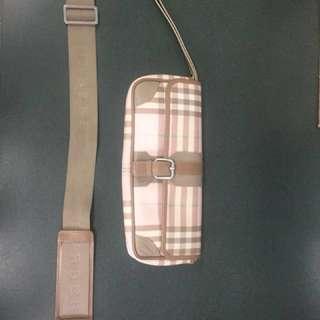 Authentic Burberry Nova Check Clutch / purse