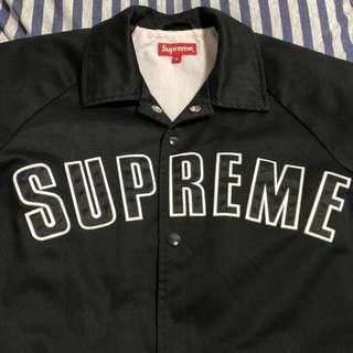 supreme 15FW twill coach jacket 絕版經典教練外套