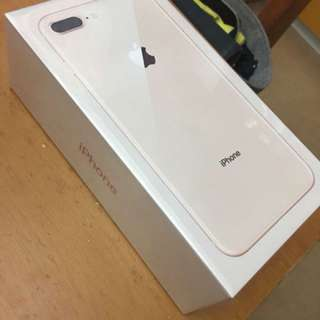 Sell 全新未開封 1010台機 iphone8 plus 256GB 金色