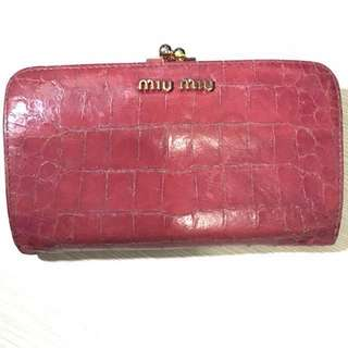 Old Miu Miu clutch purse