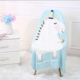 Unicorn soft blanket (PRE-ORDER)