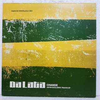 "12""Remix》Da Lata - Change (Japan Exclusive Tracks EP)"