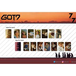GOT7 7 for 7 Unofficial Photocards (7PC)
