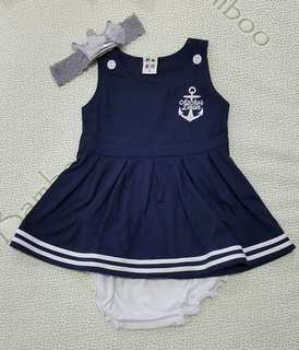 Sailor Dress Set