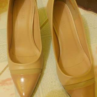 Nude Pointed Shoes ~ Parisian
