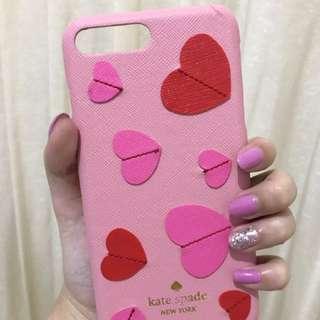 Kate Spade Heart Case Iphone 7+, 8+