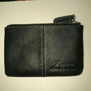 Riviera Wallet / Coin Purse / Leather / Black