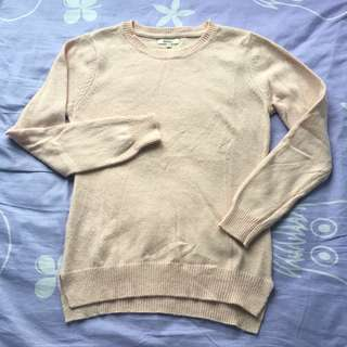 Spao baby pink sweater
