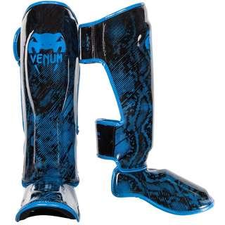 Authentic Venum Fusion (Snake Skin Design) Shin Guards (Neo Blue)