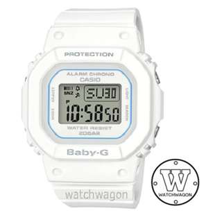 Brand New Casio Baby-G Digital White BGD-560-7