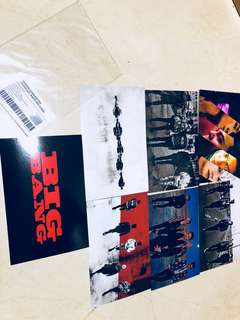 Big Bang Postcard 明信片