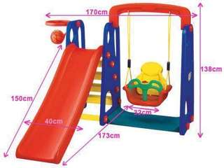 Rent-a-swing & slide