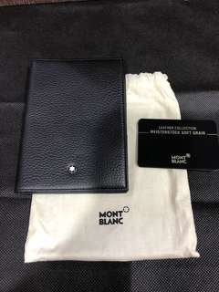 Brand new authentic Mont Blanc Meisterstück passport holder