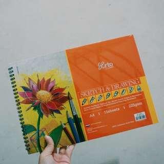 buku gambar sketchbook ARTO