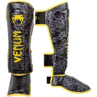 Authentic Venum Tramo Limited Edition Shin Guards (Black/Yellow)