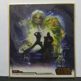 (genuine / Japan) Star Wars Return of the Jedi art