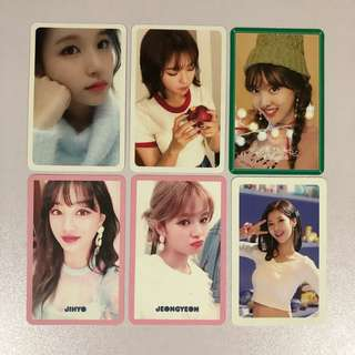 [WTT] Twice Photocards