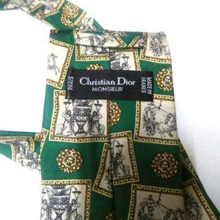 100% Authentic Christian Dior Neckties